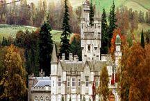 Châteaux d'Ecosse / Féeriques, imposants, majestueux, les châteaux d'Ecosse nous plongent dans un autre monde...