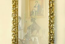 Lovely baroque mirror