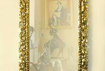 Lovely baroque mirror