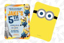 Despicable Me Party Designs