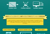 website performance infographics / simple ways to improve your website performance / by alexandrapatrick