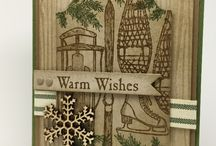Stampin Up Winter Wishes