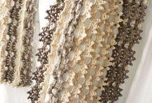 crochet scraf