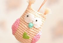 Owls:  Craft ideas to make / Crochet, sewing and other craft ideas. All owls of course!