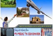flights from Mumbai to Bagdogra