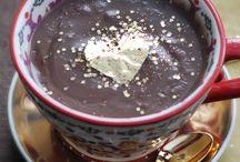 chocolate / Klaudia Krupa,, foto, hot chocolate on a winter afternoon www.projektowoo.blox.pl