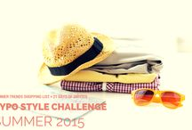 GYPO Style Challenge | Summer 2015 / This board is for the participants in the Summer 2015 GYPO Style Challenge.   / by Alison Lumbatis | Get Your Pretty On