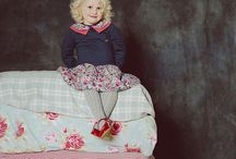 AW15 Collection ' Once Upon a Time' / Our fairytale inspired collection for boys, girls and babies. Own design prints and fabrics and vintage inspired silhouettes.