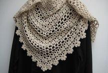 knit/crochet shawls/wraps/ponchos / by Tina Niesen