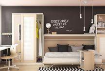 · B E D R O O M · / Here you can find ideas for decorating a bedroom. #bedroom #recamara #cuarto #room #roomideas #deco #decoration #decoracion #interior #interiordesign #interieur #diseñointerior