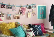 Dorm Life / Dorm decorating ideas.