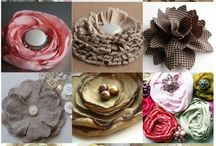 Handmade Flowers and Bows