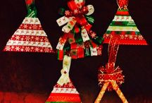 Popsicle Christmas trees! / Christmas