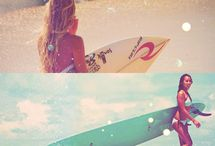 Summer, sun and surfing