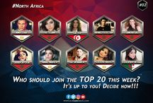 TOP 20 KORA - SAISON 2 / The Weekly Contest, Check out the list of the 20 best African artists trending in music on this moment!