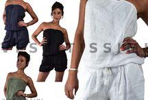Tutina Overall Tuta intera pantaloncini vestitino donna mini abito jumpsuit Vs26