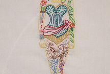 Embroidery             Borduren / All thinks made by useing needles and yarn.