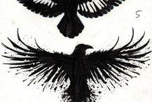 Raven Polka Trash Tattoo
