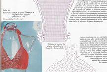 Crochet swim suit / by Amera Yosri