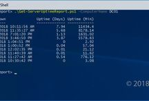 Windows Server Uptime Report Using PowerShell