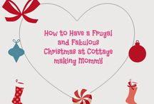 How to Have a Frugal and Fabulous Christmas / Great ideas to have a fabulous Christmas on a shoestring budget.