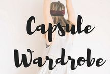 Minimalist Wardrobe / Minimalist wardrobe. Capsule wardrobe. Simplify. Decluttering and organizing.