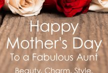 Mother's Day Cards for Aunt