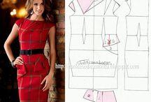 konstrukcja sukienki