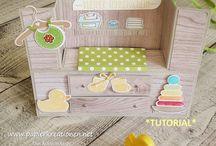 Bridge fold cards