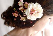 Természetes szépség / Koszorú a hajban