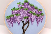 Hand made embroidery