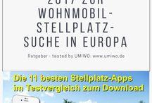 E-Book Wohnmbil Stellplatz App