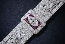 Art deco ruby bracelet cırca 1920