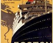 Ocean liners and steamers / Ships of the early twentieth century