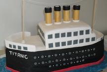 Titanic / Boat / Ship Cakes