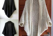crochet shrugs future projects