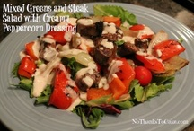 NTTC:  Healthy Salads and Dressings / by Kelly {No Thanks to Cake}