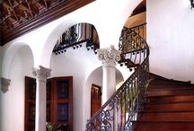 Spanish Colonial details and finishes
