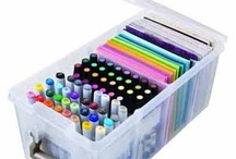 ArtBin - Marker Storage Satchel and Marker Storage Tray Dec 2012