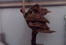 driftwood art / creations by Angie