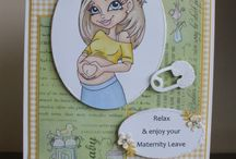 maternity leaving cards