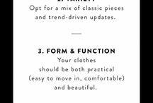 Wardrobe / Makeup Tips