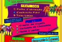 Promociones y Eventos / Estos son los diferentes eventos y promociones  de nuestro restaurante.