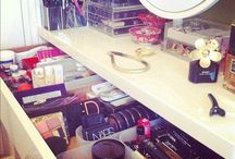 My vanity makeup