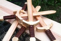 wooden craft sword