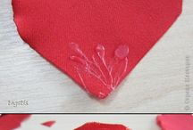 DIY: Fabric Flowers