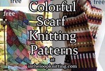 Knit Neck Wear / Some sites require FREE registration to access their FREE Scarves, Shawls and Cowls