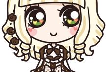 Art: Chibi and kawaii