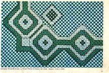 bordados xadrez