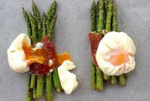 esparragos jamon y huevo
